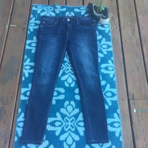 Express legging cut denim. EUC